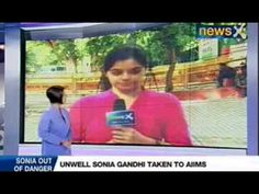 NewsX: Sonia Gandhi discharged after routine test were conducted