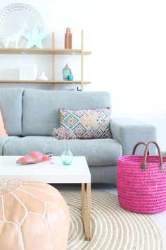 Mi salón noretnic en rosa y azul