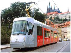 While Prague is a great city to get out and see on foot, sometimes you may feel better by riding the tram.  The good news is that there are numerous tram lines that will take you virtually all over the city to see the sights.