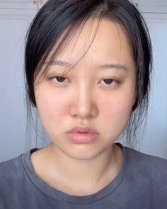 Korean Makeup Tips, Asian Eye Makeup, Asian Makeup Natural, Asian Makeup Tutorials, Soft Makeup, Hair Makeup, Beauty Makeup, Japanese Makeup, Chinese Makeup