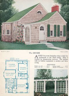 1928 Home Builders Catalog - The Divide by American Vintage Home, via Flickr
