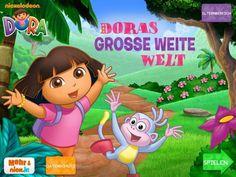 Doras grosse weite Werl Dora Spiel App iPad iPhone Kinder (7)
