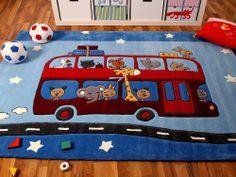 Lifestyle Kinderteppich Road Trip !!! Sofort Lieferbar !!!