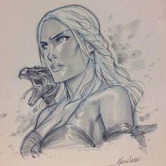 Game of Thrones - Daenerys - Mother Of Dragons by Alvin Lee *