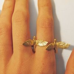 double birds ring by Verameat