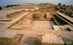 The Great Bath at Mohenjo-daro-Indus Valley is obviously the earliest public water tank in the ancient world. Most scholars agree that this tank would have been used for special religious functions where water was used to purify and renew the well being of the bathers.