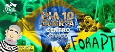 O #LulaNaCadeia obstruiu a Justiça #LavaJatoEuApoio Brasil #SOSFFAA Já #Bolsonaro2018 vai fazer a festa no dia 10
