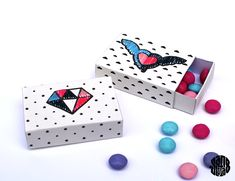 Les Matchboxes à broder (ou à colorier) free printable