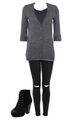 """""""ravenclaw"""" by bleeding-neverland on Polyvore featuring Topshop, 6397, White Stuff and Therapy"""