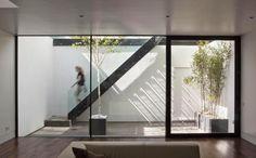 Sunken courtyard  Ben Adams Architects