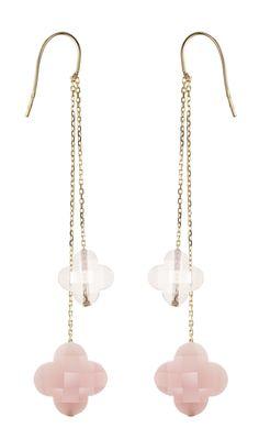 BO Friandise Duo de Morganne Bello - Quartz rose et opale rose