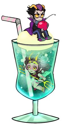 fef sundae.... with an eridan cherry on top ---E that's actually quite cute<<< Don't you mean a... CHERIDAN?