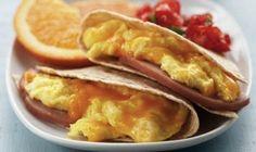 EGG-CELLENT BREAKFAST QUESADILLA #breakfast #food #recipes