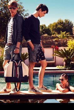 Gucci - men's cruise catalogue