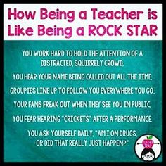 Image result for rock star teacher appreciation
