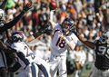 Peyton Manning on 11/9/14 at Oakland. Final score: DEN 41 OAK 17