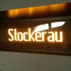 nächster Halt: Stockerau Class Management, Digital Alarm Clock, Instagram