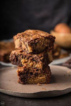 Brownies με φυστικοβούτυρο - madameginger.com