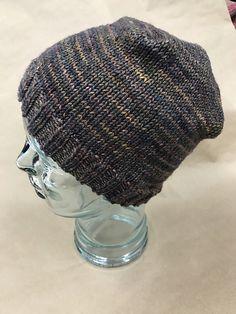 Box Pleated Hat pattern by Leanne Leno | malabrigo Rios in Ilusion