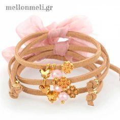 Μαρτυρικό Αφήτεχνο Πεταλούδα, κωδ. 18241 Bangles, Bracelets, Brown Suede, Hot Pink, Gold Rings, Rose Gold, Beads, Unique Jewelry, Accessories