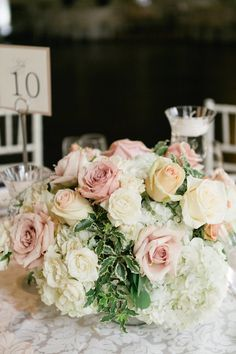 Featured Photographer: Corina V. Photography; wedding centerpiece idea