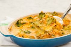 """18 """"Cracker Barrel-Inspired Broccoli Cheddar Chicken Casserole"""" Don't wait until Wednesday to get your broccoli cheddar fix. Get the recipe from Delish. Chicken Casserole, Casserole Recipes, Broccoli Casserole, Great Recipes, Favorite Recipes, Yummy Recipes, Fall Recipes, Dinner Recipes, Yummy Food"""