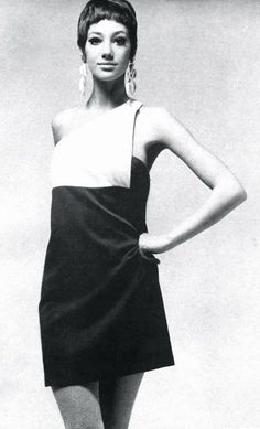 Marisa Berenson in a dress by Christian Dior, 1967