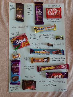 Creative Birthday Cards, Cute Birthday Gift, Birthday Candy Posters, Chocolate Bar Card, Happy Birthday Quotes For Friends, Making Ideas, Message Card, Craft, Funny