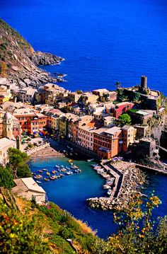 Vernazza, Cinque Terre, ItalyJust booked a hiking tour for May :)