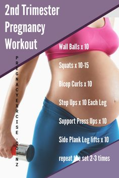 A perfect exercise you can enjoy during your second trimester. Fore more exercis. - A perfect exercise you can enjoy during your second trimester. Fore more exercis. Trimesters Of Pregnancy, Pregnancy Tips, Pregnancy Nutrition, Pregnancy Fitness, Pregnancy Health, Pregnancy Workout Plans, Crossfit Pregnancy, Pregnancy Exercise First Trimester, Pregnant Workout