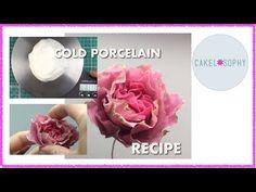 Sugarcraft: Materials , Techniques etc #4: Cold Porcelain Recipe - CakesDecor