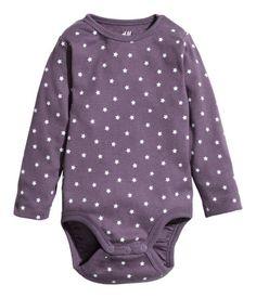 Product Detail | H&M US Long-sleeved Bodysuit $6.95