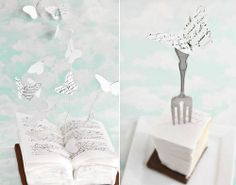 Sprinkle Bakes: Words Take Flight: A Book Cake