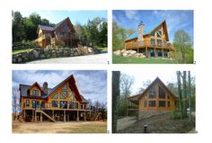 What can we say? Timber Block Insulated Log Homes are gorgeous! See more on our Facebook Page! (Timber Block)