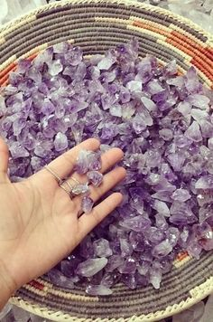 Amethyst; reminds me of my great nana