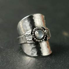 DIY Recycled Spoon Ring.                                                                                                                                                                                 More