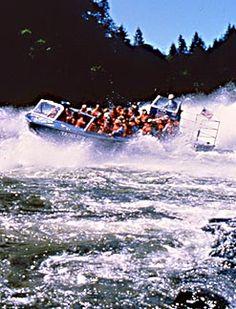 Rogue River jet boat tours near Gold Beach