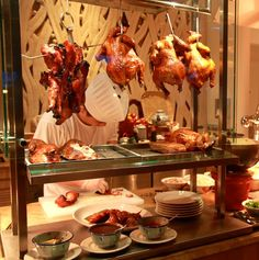 Roast Duck at Good Ol' Days of Singapore Buffet at Shangri-La's Rasa Sentosa