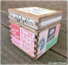 The Keeper Boxes   An Art Therapy Directive  www.creativitymattersllc.com                 Goal of Activity:       To give the client...