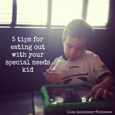 Dining Out with Special Needs Kids #autism