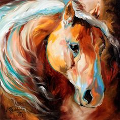 """Magic Moments"" Original Oil Painting by Marcia Baldwin 