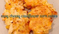 Cauliflower gets a kick of flavour with cheese and corn to create a unique vegetable side dish… Now would this work without the eggs?