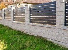 BLOCZEK House Fence Design, Modern Fence Design, Gate Design, Sliding Gate, Door Design Interior, Hip Roof, Entrance Gates, Dream Home Design, Diy Home Crafts
