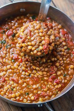 Lentil Chilli, Easy to Make