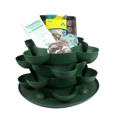 Stack & Grow + Culinary Herb Kit 12 herb garden -$62