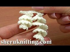 How to Crochet Curly Fringe Tutorial 2 Crochet Spirals Edging