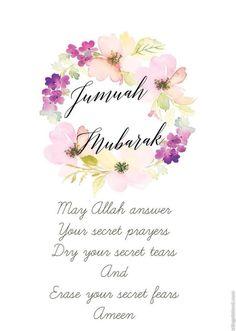 354 best jumah mubarak images in 2019 Jumat Mubarak, Jummah Mubarak Dua, Jumma Mubarak Images, Allah Quotes, Muslim Quotes, Quran Quotes, Hindi Quotes, Qoutes, Juma Mubarak Quotes