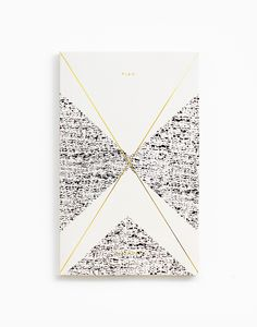 Gold Foil Any-Year Daily Planner - Crème