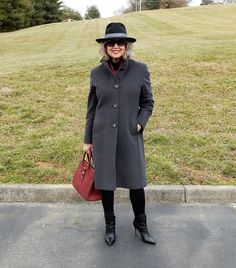 Fifty, not Frumpy: Choosing A Winter Coat