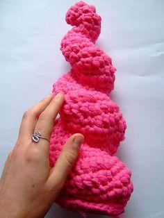 sophie buckley crochet sculpture